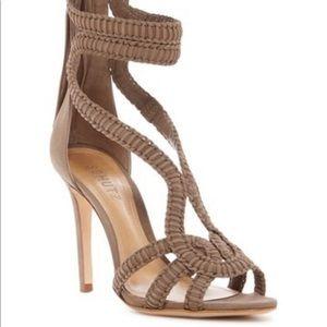 New in box Schutz gladiator heels